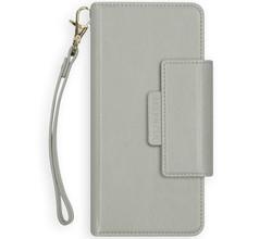 Selencia Selencia 2-in-1 Uitneembare Vegan Lederen Bookcase iPhone Xr - Grijs (D)