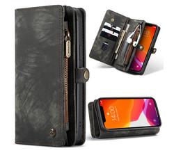 CaseMe CaseMe Luxe Lederen 2 in 1 Portemonnee Booktype iPhone 12 Mini (D)