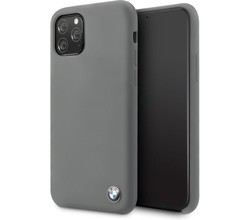 BMW BMW Silicone Backcover iPhone 11 Pro Max - Grijs (D)