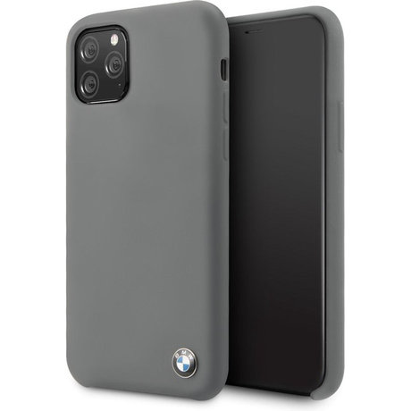BMW Silicone Backcover iPhone 11 Pro Max - Grijs (D)