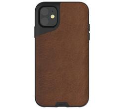 Mous Mous Contour Backcover iPhone 11 - Bruin (D)