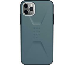 UAG UAG Civilian Backcover iPhone 11 Pro Max - Blauw (D)
