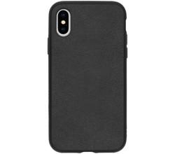 RhinoShield RhinoShield SolidSuit Backcover iPhone Xs / X - Leather Black (D)