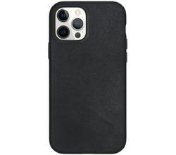 RhinoShield RhinoShield SolidSuit Backcover iPhone 12 (Pro) - Leather Black (D)
