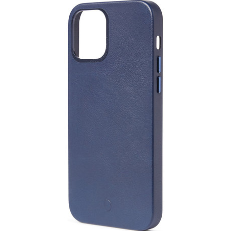 Decoded Leather Backcover MagSafe iPhone 12 Mini - Blauw (D)