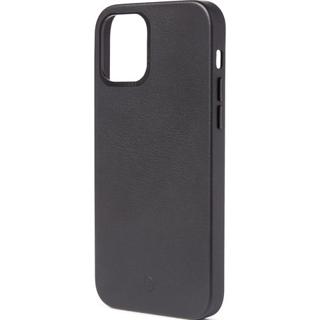 Decoded Leather Backcover MagSafe iPhone 12 Mini - Zwart (D)