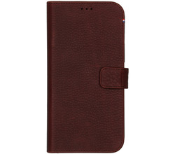 Decoded Decoded 2 in 1 Leather Detachable Wallet iPhone 12 Pro Max - Bruin (D)