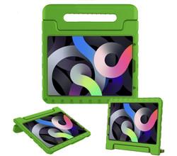 iMoshion iMoshion Kidsproof Backcover met handvat iPad Air (2020) - Groen (D)