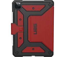 UAG UAG Metropolis Bookcase iPad Pro 12.9 (2020) - Rood (D)