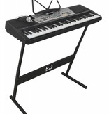 New Jersey Sound NJS800 full size complete keyboard set met 61 piano style toetsen