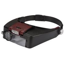 Velleman VTMG13 hoofdband met vergrootglas en LED verlichting