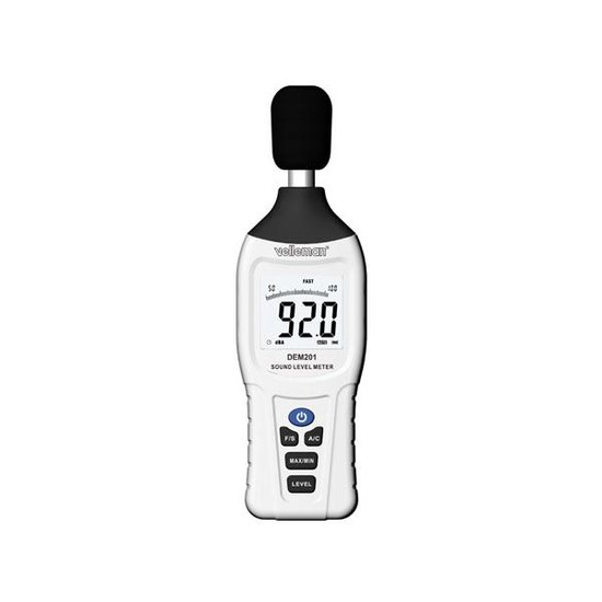 Velleman Velleman DEM201 geluidsniveaumeter dB meter