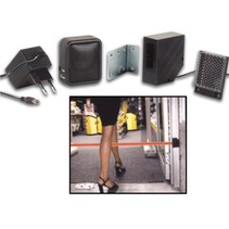 Velleman PEM7D winkel deurbel werkt met infraroodstraal