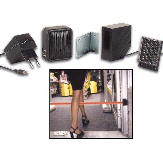 Velleman Velleman PEM7D winkel deurbel werkt met infraroodstraal