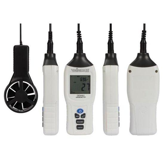 Velleman Velleman DEM401 digitale thermometer anemometer