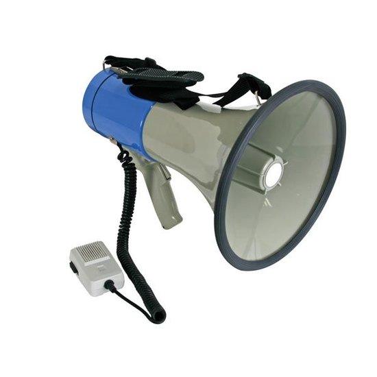 Velleman Velleman MP25SFM megafoon van 25 watt met sirene afneembare microfoon