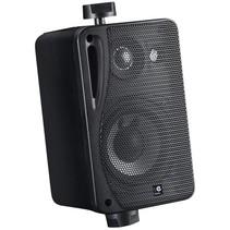 E-Audio Achtergrond luidsprekers met ophangbeugel 80 Watt 4 Ohm Zwart