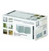 E-audio E-Audio B405A witte 4 inch full range mini luidspreker set 80 watt