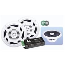 E-Audio B404BL badkamer muziekinstallatie met 6.5 inch speakers 60 Watt