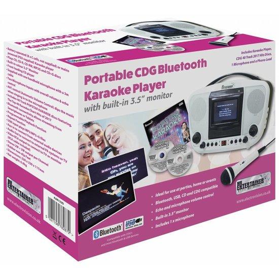 MR Entertainer Mr Entertainer KAR122C Bluetooth CDG karaoke machine