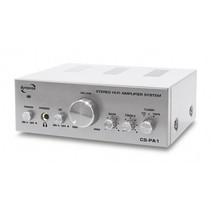 Dynavox CS-PA1 MK 50 watt mini versterker zilver