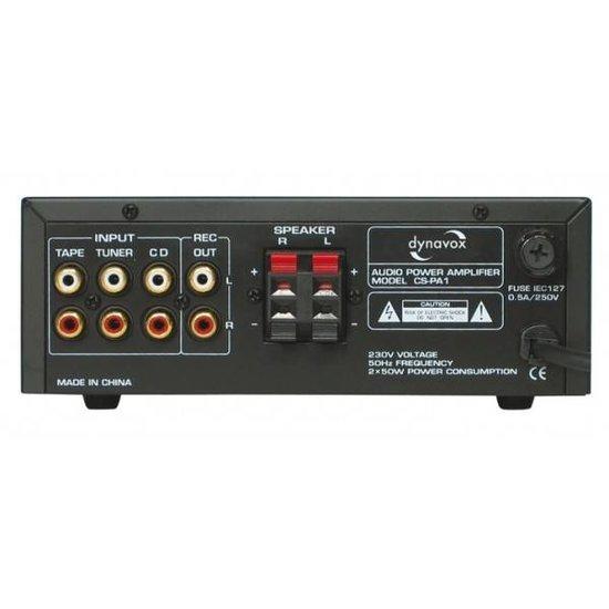 Dynavox Dynavox CS-PA1 MK 50 watt mini versterker zilver