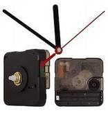 Quartz klok uurwerk met seconden minuten en uren wijzer met korte en lange wijzers