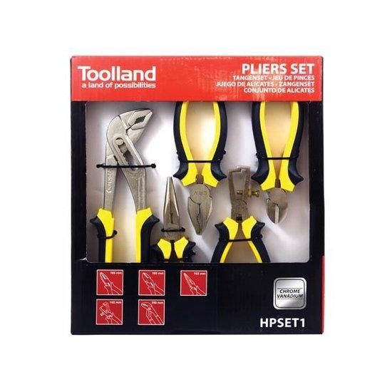 Toolland Toolland HPSET1 tangenset 5-delig