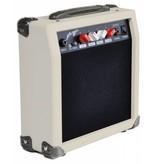 Johnny Brook Johnny Brook JB703 20 watt gitaarversterker wit