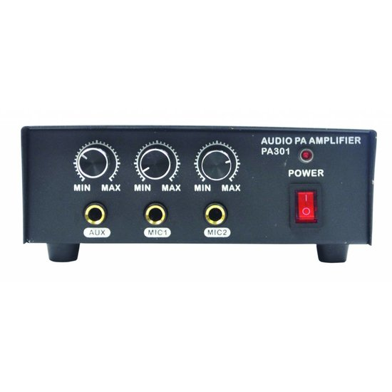 Eagle Eagle P101B PA versterker op 12 Volt 30 watt