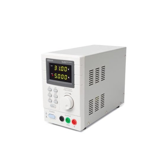 Velleman Programmeerbare Labovoeding 0-30 Vdc / 5 A Max. - Dubbele Led-display Met Usb 2.0-interface