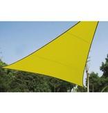 Perel Zonnezeil  driehoek 3.6 x 3.6 x 3.6 meter lichtgroen