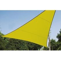 Zonnezeil  driehoek 3.6 x 3.6 x 3.6 meter lichtgroen