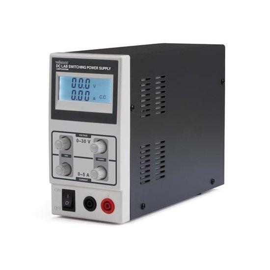 Velleman Velleman LABPS3005SM schakelende labovoeding  0-30 volt 0-5 ampère