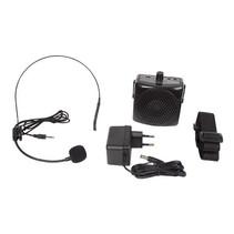 Draagbare mini PA versterker / mobiele lichtgewicht spraakversterker met headset