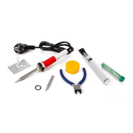 Velleman Velleman K/SOLD3 elektrische soldeerset met tin en tang