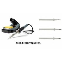 Velleman VTSS7 soldeerstation  met 3 extra reservepunt 160-480 °C