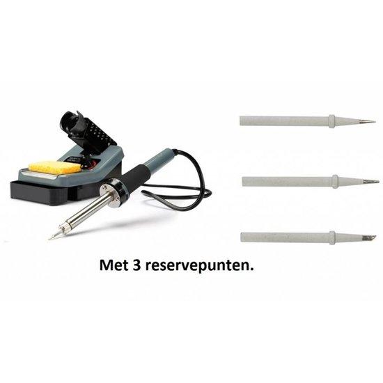 Velleman Velleman VTSS7 soldeerstation  met 3 extra reservepunt 160-480 °C