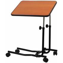 Aidapt VG832AA bedtafel met wielen donker hout