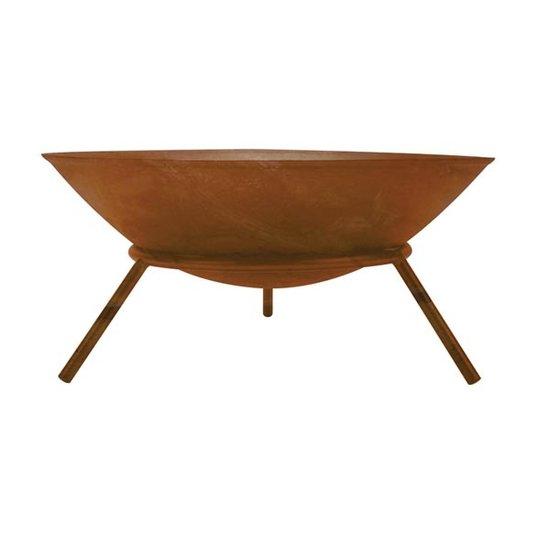 Perel Perel vuurschaal - roestkleur 56 cm