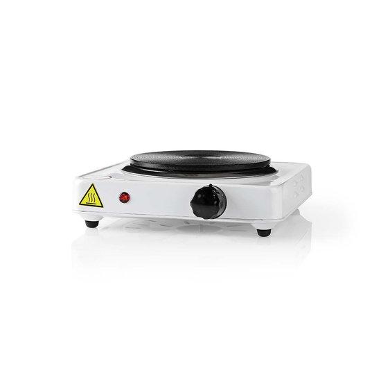 Nedis Nedis elektrische 1000 watt kookplaat - 155 mm beveiliging tegen oververhitting