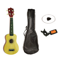 Johnny Brook JB310 Soprano Ukulele set - hout