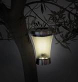 Perel Perel CSOL17 RVS tuinlampen set van 4 stuks op zonne-energie