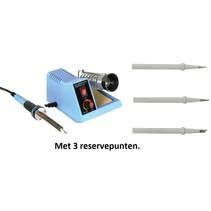 Velleman VTSS4N soldeerstation  met 3 extra reservepunt 150-450 °C