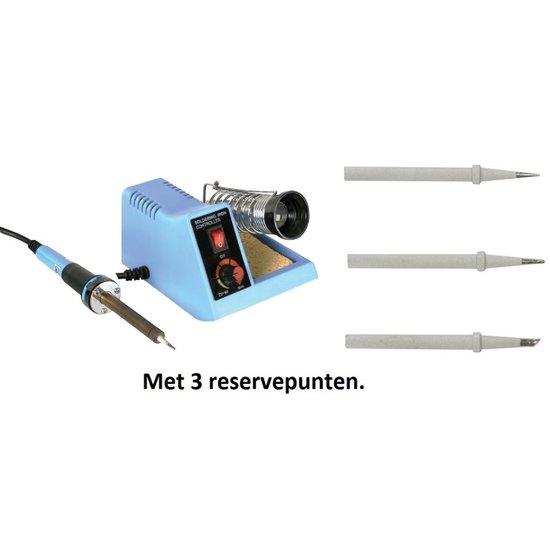 Velleman Velleman VTSS4N soldeerstation  met 3 extra reservepunt 150-450 °C