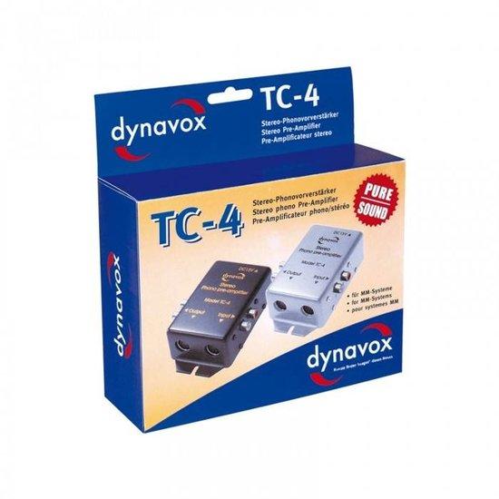 Dynavox Dynavox phono voorversterker TC4 - zilver