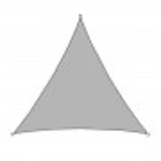 SHALL Shall SHD36G schaduwdoek grijs driehoek 3.6 x 3.6 x 3,6 meter