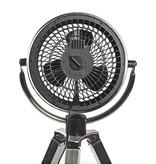 Nedis Nedis design ventilator op driepoot met geborsteld metaal
