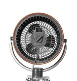 Nedis Nedis design ventilator op driepoot met houtlook drie snelheden