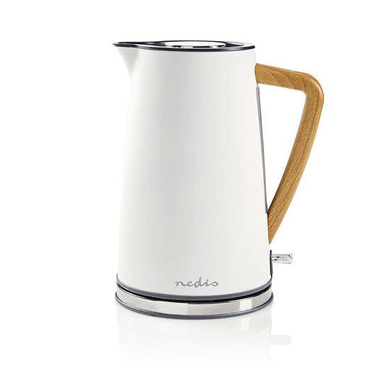 Nedis Nedis elektrische waterkoker soft-touch wit - 1,7 liter